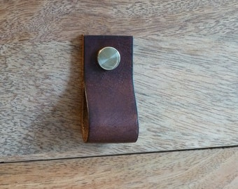 SCKLeather Handmade Veg Tanned Leather Draw pulls