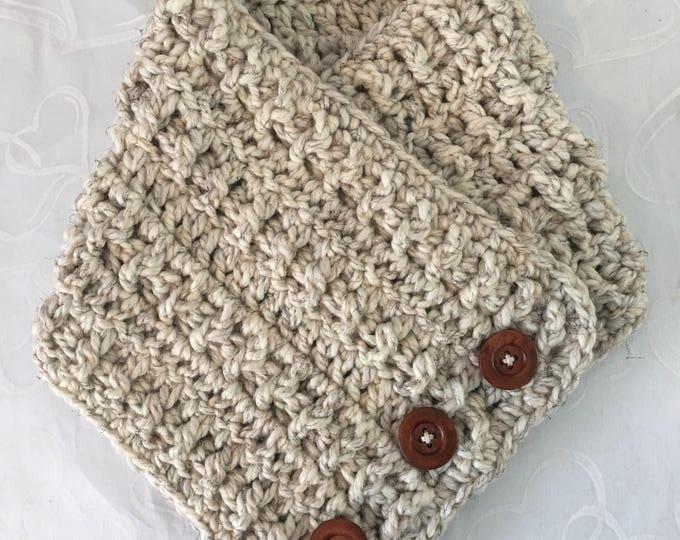 Chunky Scarf-Wrap-Crocheted Shawl-Neckwarmer-Women's Scarf-Accessories Fashion Wraps-Winter Shawl