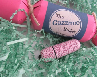 Gazzmic Bullet Vibrator - Vaginal Vibrator and Clitoris Stimulation Sex Toy, Unique Gift, Bachelorette Gift, Birthday Gift for Her