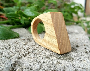 Chestnut Wood Ring, Natural Wood Ring, Wooden Ring, Wood Ring, Natural Jewelry, Wooden Jewelry, Handmade Wood Ring, Eco Friendly Ring