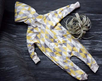 Bamboo Lined Water Resistant OnePiece 3-6m