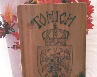 Serbian Crest Cutting Board