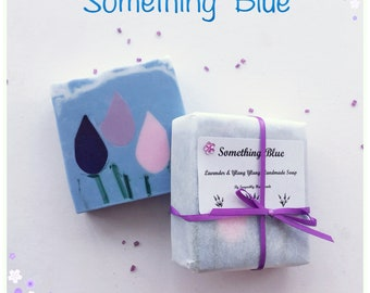 Lavender soap, Lavender and Ylang Ylang soap, Handmade soap, Loaf soap, Bath care, Essential oils