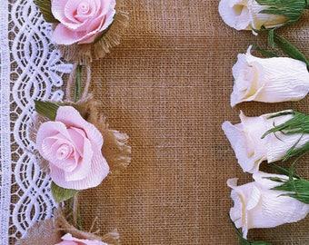 Garland, pink, wedding, Garland backdrop, garland decoration, garland lights, garland flower, flax flowers line, wedding garland flowers,