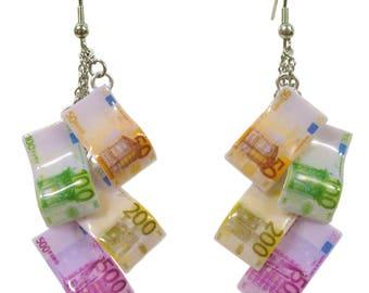 Orecchini Banconote