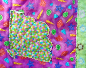 "Mini Quilt Pattern, ""Seashore Fun"""