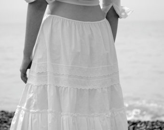 White Cotton Petticoat