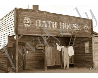 Bath House Photograph