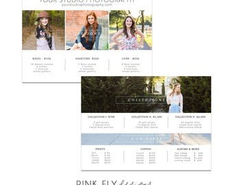 5x7 Pricing Guide | Card Template | Photoshop Template | Basic Pricing Guide