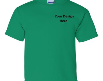 Custom Embroidered YOUTH T-Shirt--More Colors
