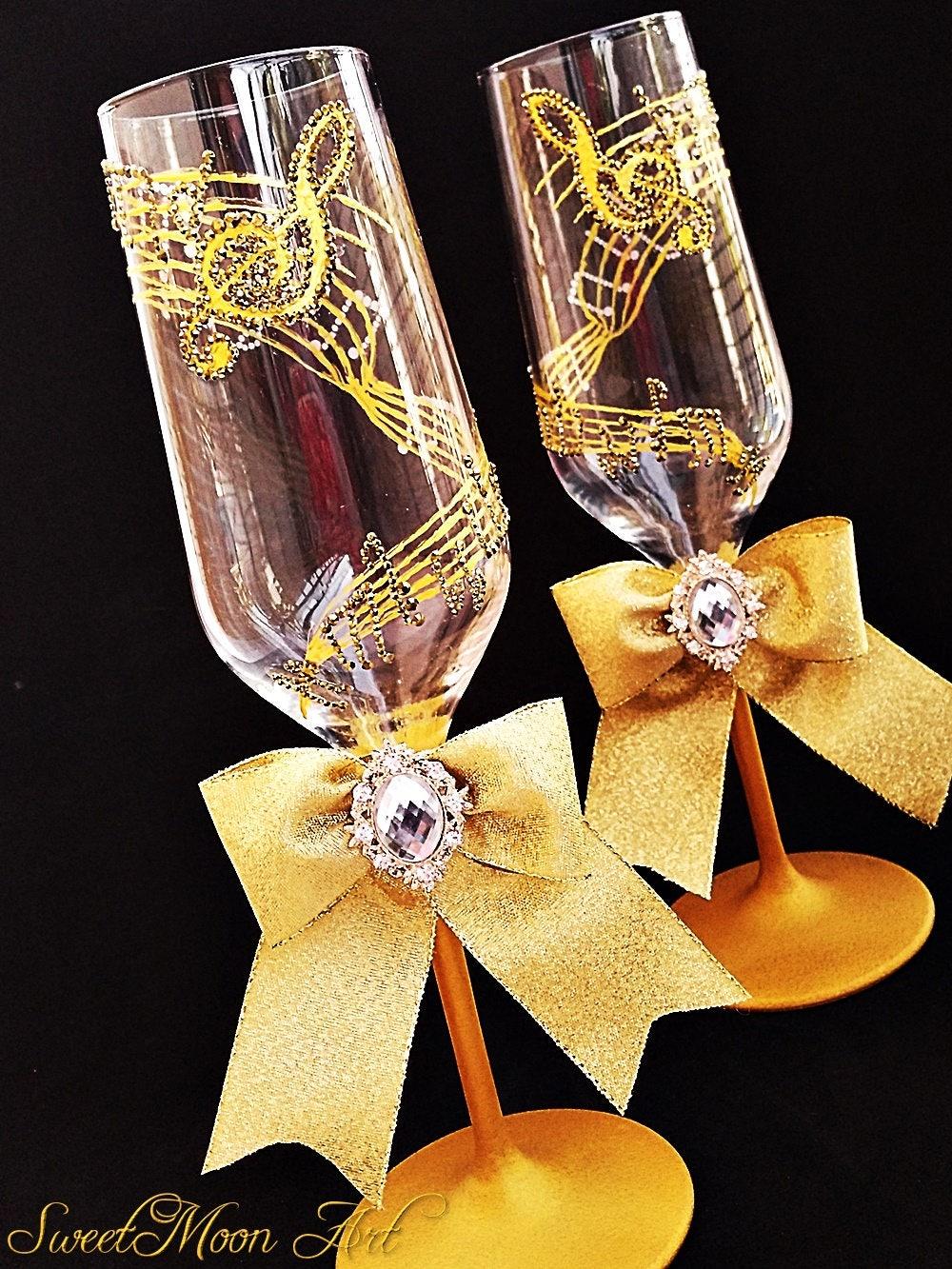 Flautas Champagne M Sica Flautas Boda Musicales Flautas # Champagne Muebles Uy