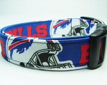 Buffalo Bills Dog Collar Football