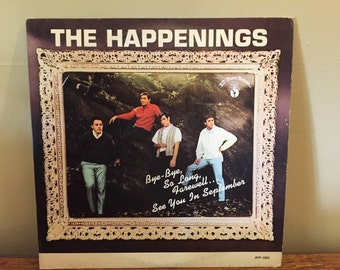 "The Happenings ""The Happenings"" vinyl record"