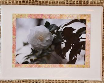 Camellia note card