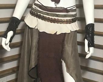 Medium Size Game of Thrones inspired Dothraki Khaleesi Daenerys riding Cosplay Costume, Khaleesi Costume, Daenerys Targaryen Costume