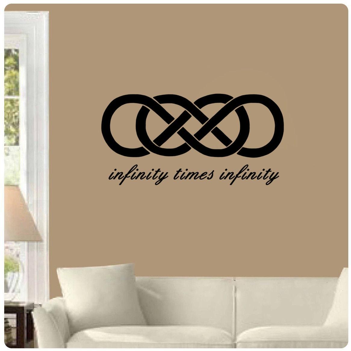 Infinity times infinity double infinity symbol romantic zoom buycottarizona