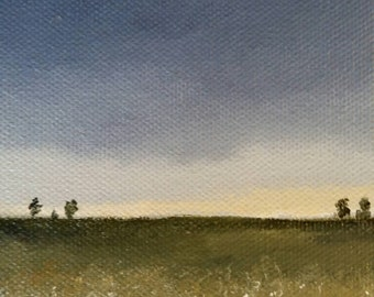 Wildflowers - Oil Painting - Mini