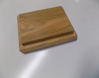 Hand made cherry wood salvage serving board