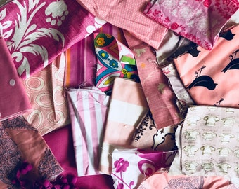 Fabric stash pink