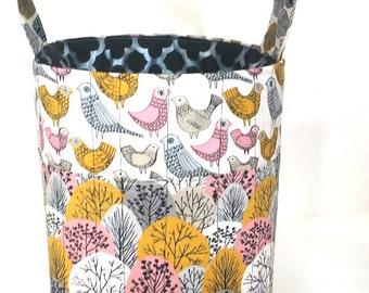 Storage Organization-Ultimate Knitting Storage-Crochet-Tote-24+Needle Sleeves-5 Grommets-Yarn Storage-Multiple Yarn Feed-Project Bag Crochet