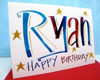 Name Card -Ryan