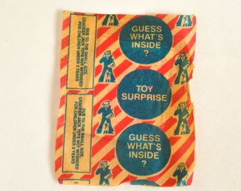 Cracker Jack Toy in Packaging, Magic Window