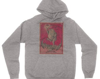Pullover Hoodie Sweatshirt Protection From Fire Takashima Made In Japan Poster
