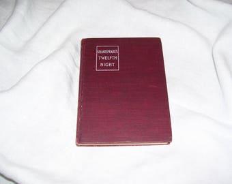 Shakespeare's Twelfth Night 1906 Antique