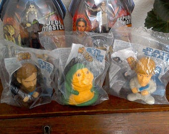Lot of 5 STAR WARS Action Figure Character