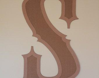 35-inch Cardboard Letters