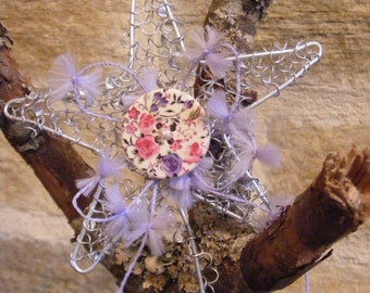 Bridesmaids Silver Decorative Wired Wand