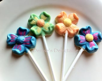 Daisies Lollipops