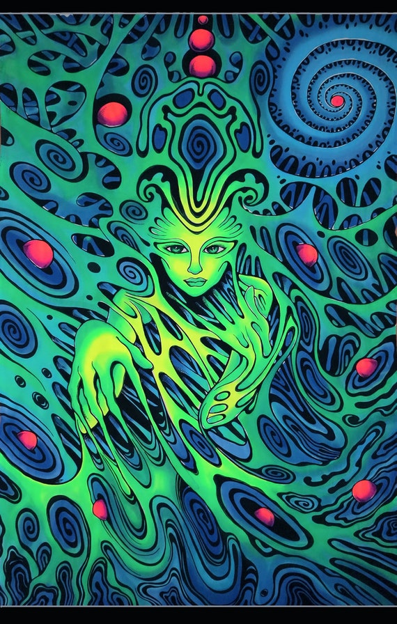Trippy Wall Paintings