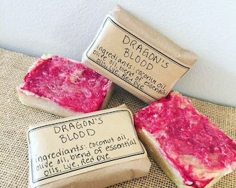 Dragon's Blood Homemade Soap