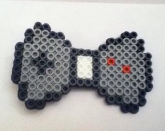 Nintendo controller perler  bead hair clip