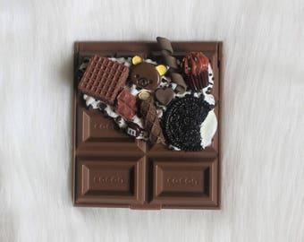 chocolate candy bar decoden mirror