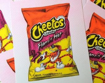 Hot Cheetos Prints
