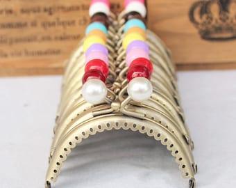 2pcs. 8.5cm purse frame purse clasp clutch frame metal purse frame purse making supplies wholesale(hw511)