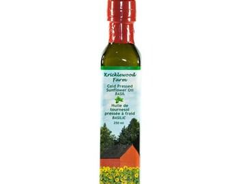 Basil Infused Sunflower Oil