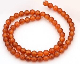rosary 65 beads carnelian, 6mm (0.24 inch)