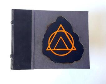 Clearance - Burnt sketchbook - Old stock