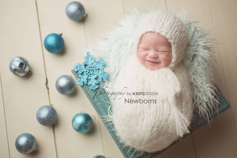 Newborn Bonnet Pattern Newborn Swaddle Sack Pattern Newborn