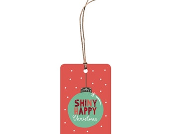 Christmas Gift Tag – Shiny Happy Christmas.