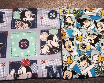 Reusable snack bags Fish Extender gift Disney Cruise Mickey Goofy Pluto Fan FE Gift
