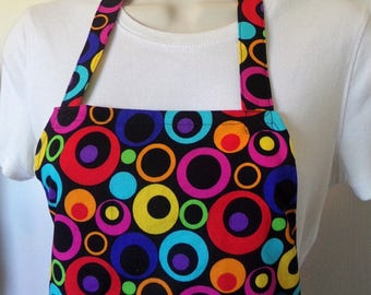 Full Apron - Colorful Circles