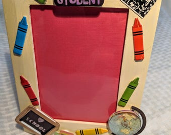 Back to School Picture Frame 8x6
