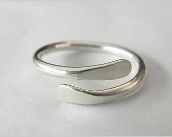 Handmade Ring, Hammered Ring, Silver Ring, Boho Ring Bohemian Ring Gypsy Ring Girls Ring Women Ring