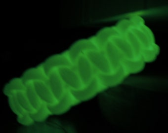 Glow In The Dark 550 Paracord Bracelet, Survival Gear, Oil Diffusing Bracelet