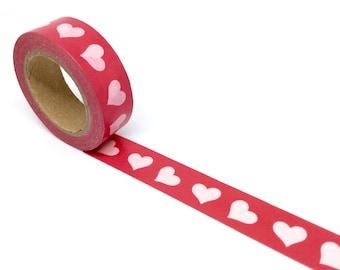 Hearts washi tape