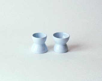 "2 egg cups ""PASTEL"""